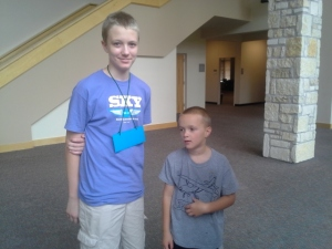 Volunteer Jordan and Judah