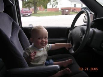 Judah - Driver in Training